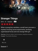 Preview netflix stranger things series