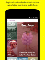Preview snapchat discover stories