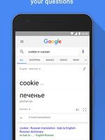 Preview google app search results