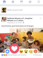 Preview facebook news feed
